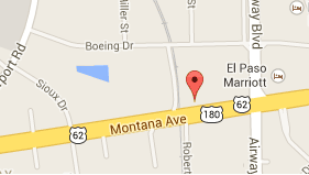 Map to Century 21 APD near Fort Bliss