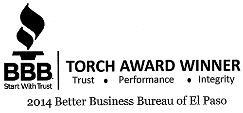 Better Business Bureau 2014 Torch Award Winner